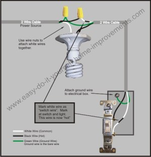 Light Switch Wiring Diagram