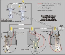 four way light switch wiring diagram wiring diagram 3 way light switch multiple lights wiring diagram wire