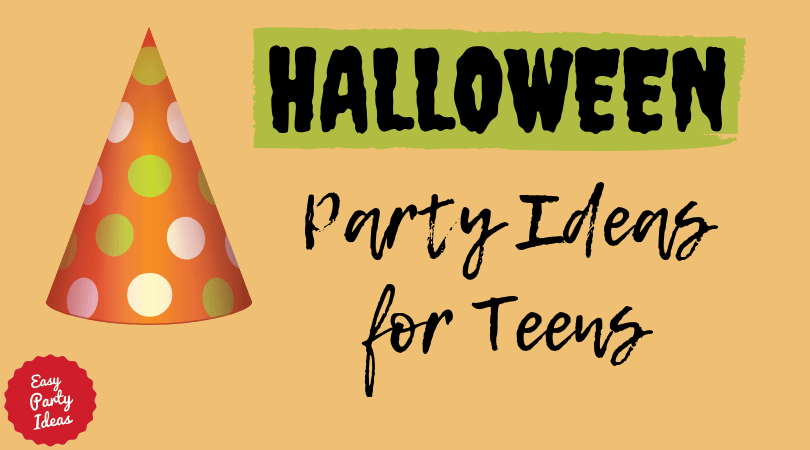 Spooky gift box ribbons & medals: Halloween Party Ideas For Teenagers