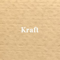 Page simple martelée Kraft