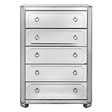 simplicity mirrored dresser collection