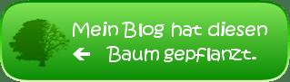Mein Blog hat eine Eiche gepflanzt.
