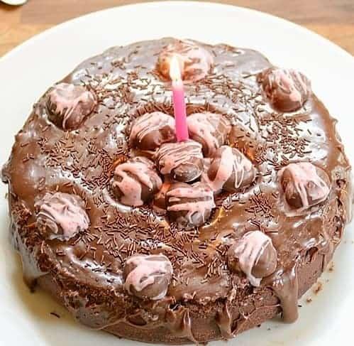 Crazy Gal Cake ( Bolo Nega Maluca)