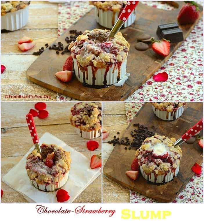 Chocolate-Strawberry Slump by From Brazil To You.