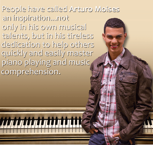 Arturo Moises Author Easy As That Piano