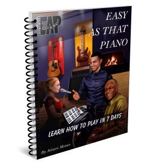 learn to play piano by ear with Easy As That Piano