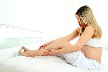 pregnancy leg cramps