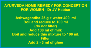 Home Remedy For Conception For Women
