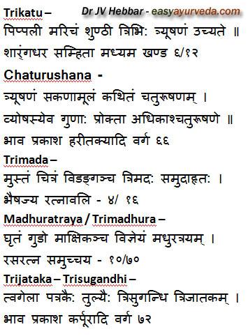 Trikatu Trimada Trimadhura