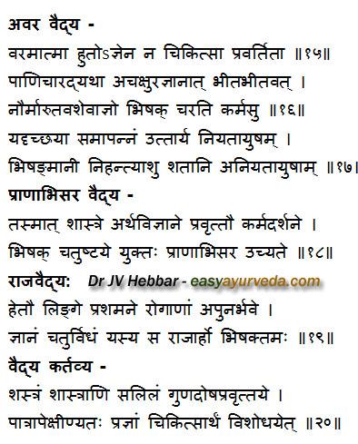Qualities of Good Ayurvedic Doctor