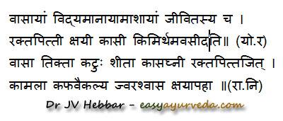 Adhatoda uses