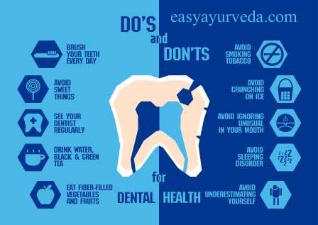 do's and don'ts for dental hygiene