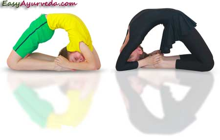 kapotasana pigeon pose how to do benefits dosha effect