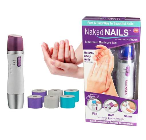 Naked Nails Electronic Manicure Nail