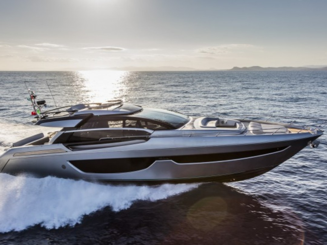 NICE YACHT CHARTER RIVA 76 PERSEO NEW Motor Boat Rentals