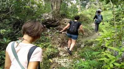 ecoturismo a cuba. ecotour to cuba. turismo ecologico a cuba. sentiero ecologico a cuba