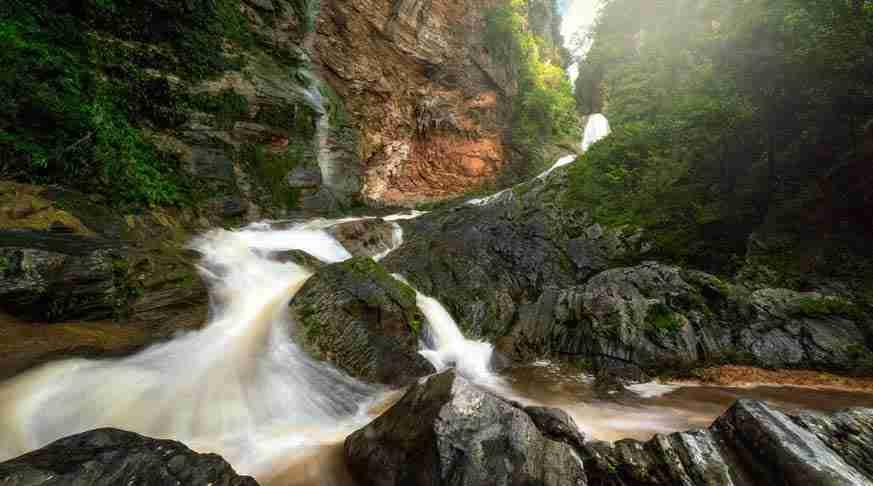Caburni Waterfall