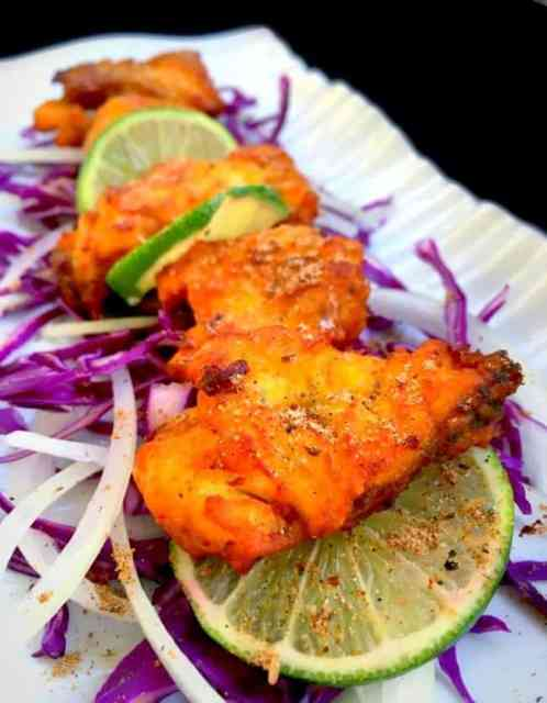 Amritsari Fish Pakora is an Indian style fish fried with spices