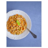Quick Vegetable Quinoa Pilaf Pulao (using Pressure Cooker XL) V+GF