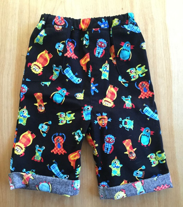 easy diy baby pants and shorts