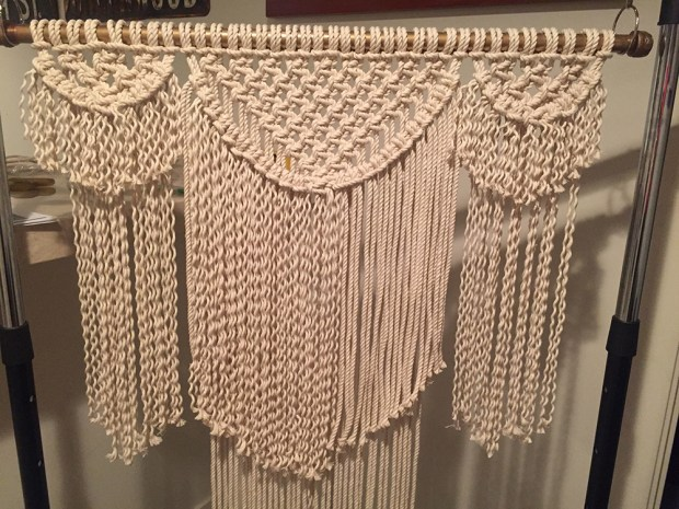 macrame rope home depot macram 233 wall hanging easy craft and sew 2305