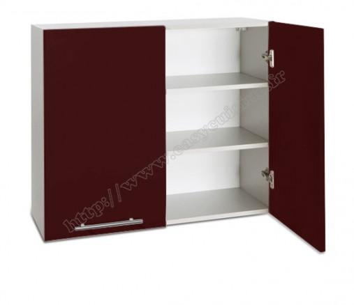 meuble haut cuisine 2 portes 80 cm pas