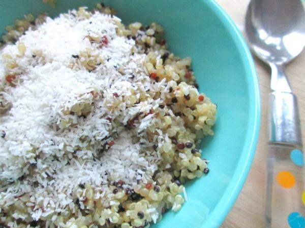 quinoa ontbijt met kokos