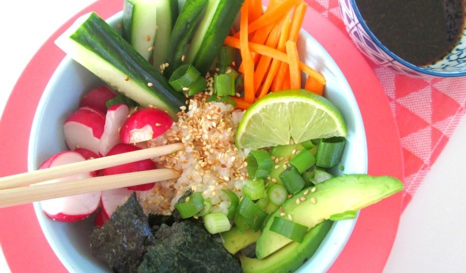 sushi bowl maken
