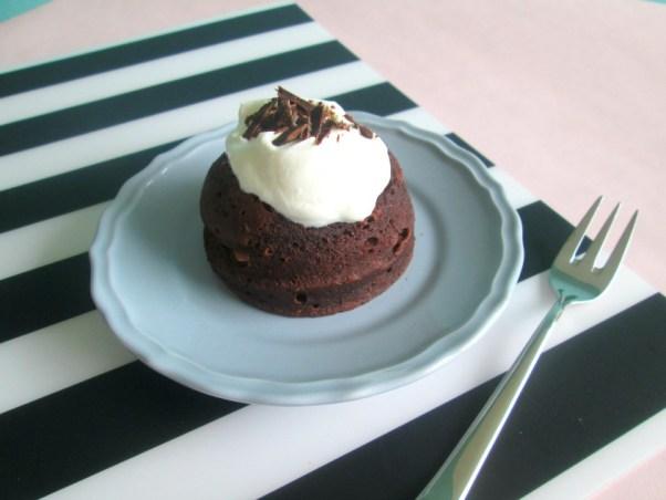gezonde chocolade mugcake