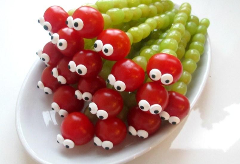 Iets Nieuws Gezonde kindertraktatie I Fruit rups @GC67