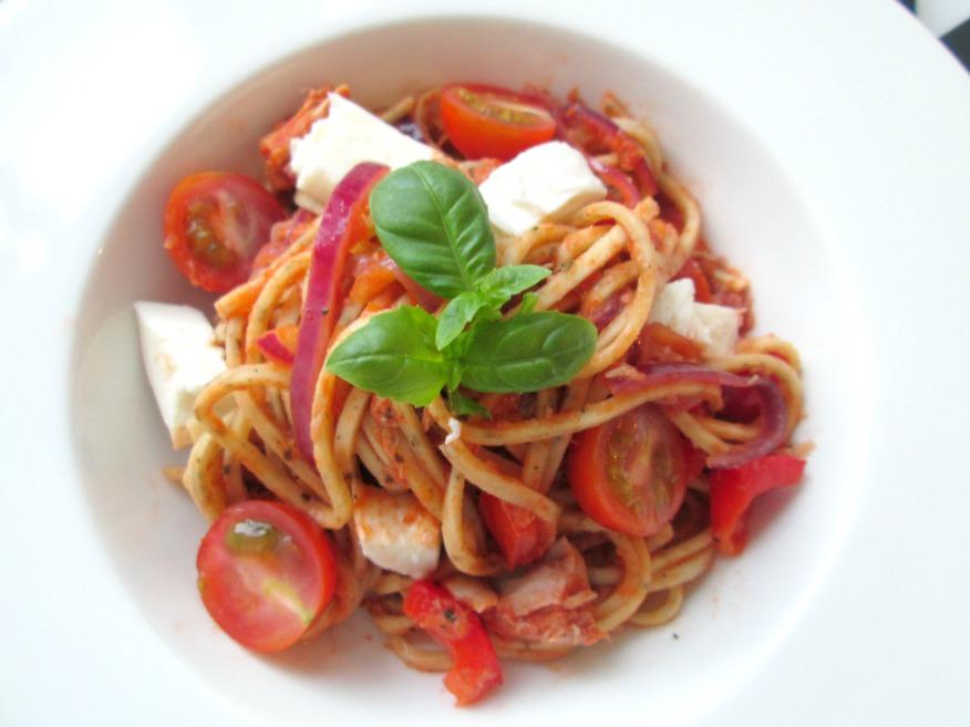 spaghetti bewaren in koelkast