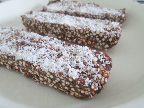 gepofte quinoa reep
