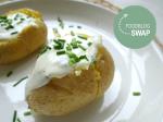 snelle gepofte aardappel