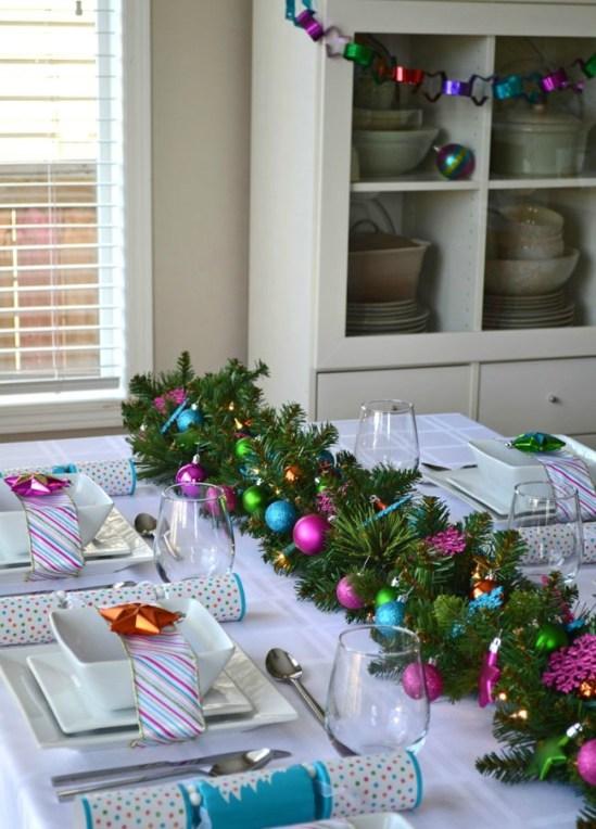 tafel dekken kerst