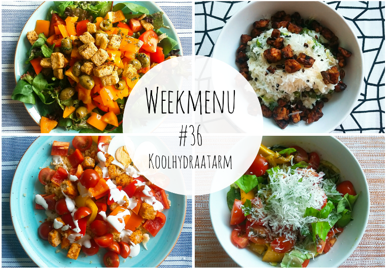 koolhydraatarm weekmenu