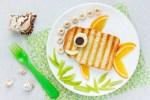 leuke food art kids