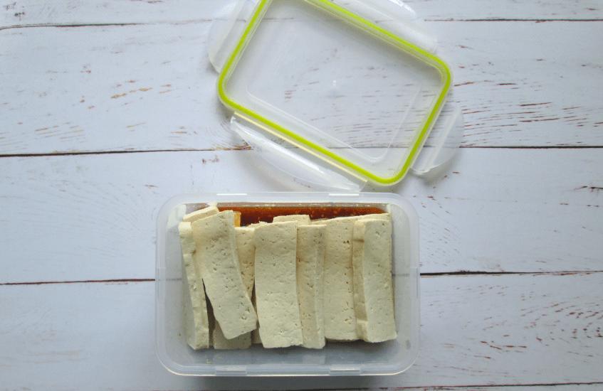 lekkere tofu marinade