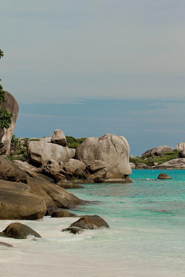 Granit Boulders at Similan Islands National Park