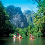 Bamboo rafting with Khao Sok Tours daily from Khao Lak