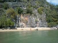 Khao Lak Phang Nga Bay Caves Sea Canoe - Beach at Koh La Na