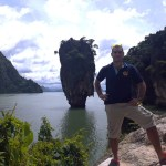 Easy Day's Francesco at James Bond Island