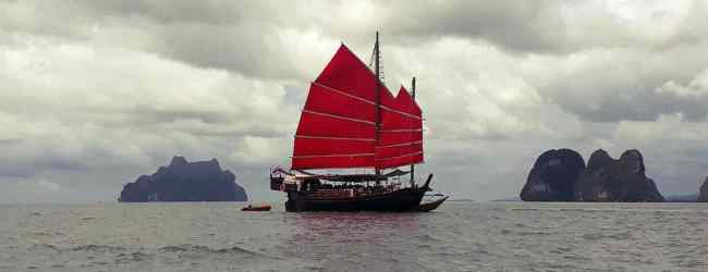 June Bahtra - Spirit of Phang Nga Bay Cruise - Red sails