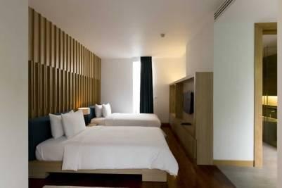 Signature Pool Villa - Twin Bedroom at The Nap Patong