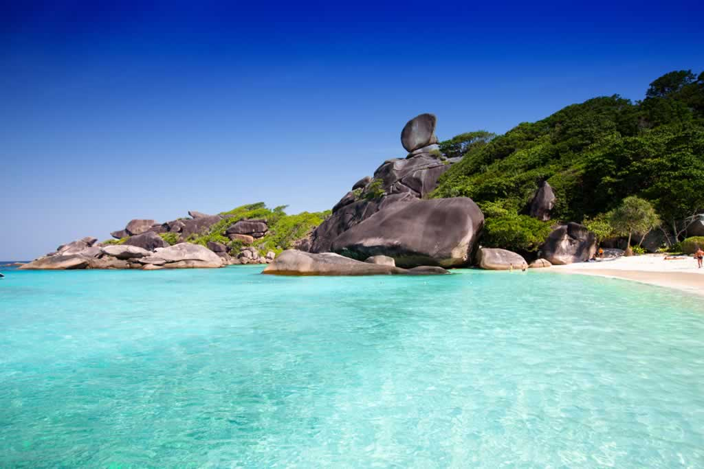 Karon Beach To Similan Islands