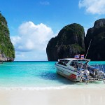 Maya Bay at Phi Phi Island, Krabi