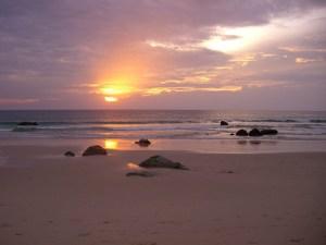 Sonnenuntergang Surin Beach