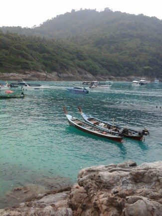 Longtail Boats at Raya Yai Island