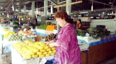 Shopping at Local market