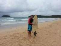 Surfer Enrico at Kata Beach