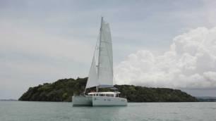 Phuket Boat Charter - SY Olivia Front